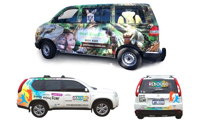 vehicle graphics sample